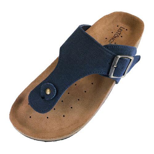 Les Tôngs Les Tongs Zimtlatschen Blue Jeans blue 42
