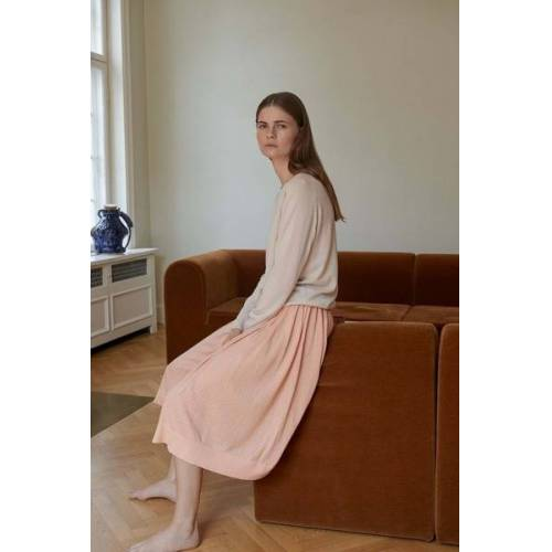 FUB Midi-faltenrock - Skirt rose XS
