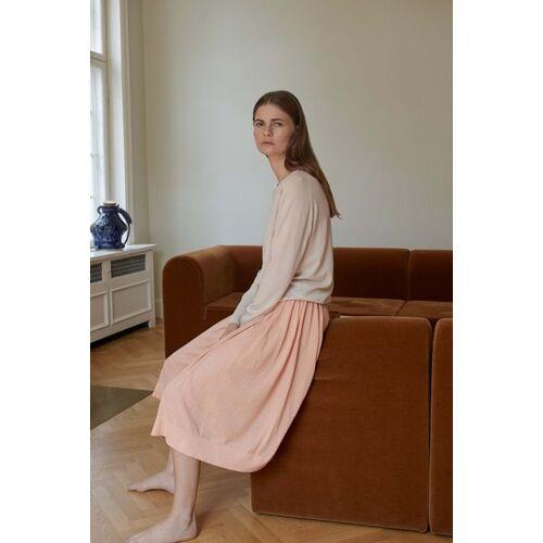 FUB Midi-faltenrock - Skirt rose S