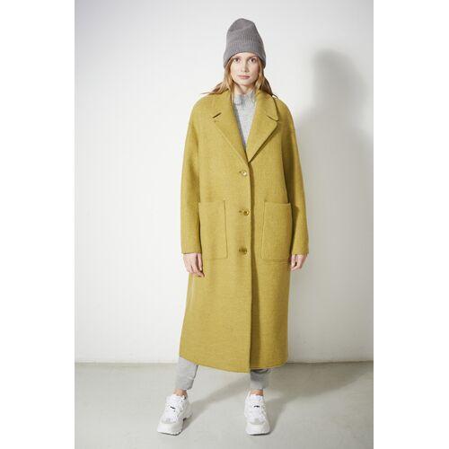LangerChen Wollmantel - Coat Carran gelb (fennel) M