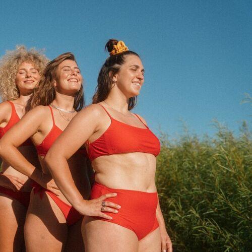 WONDA swim Bikini Bottom Berlin rot L