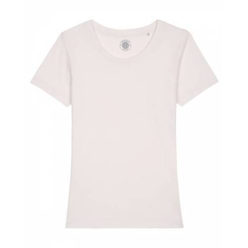 "University of Soul Damen T-shirt Aus Bio-baumwolle ""Estelle"" altmodisches weiß S"