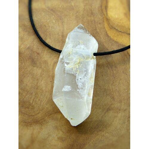 OneWorldMinerals Bergkristall, Edelstein-anhänger, Kristallspitzen, Pakistan/himalaya, Natur Pur! beige