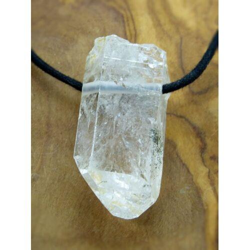 OneWorldMinerals Bergkristall Kristallspitze, Edelstein-anhänger, Himalaya, Natur Pur! beige
