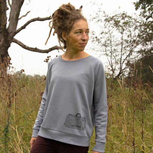 Cmig Reisekoffer Pulli Für Damen In Lava Grey grey M