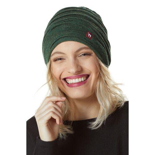 Apu Kuntur Alpaka-mütze Gefüttert - Caminos grün M