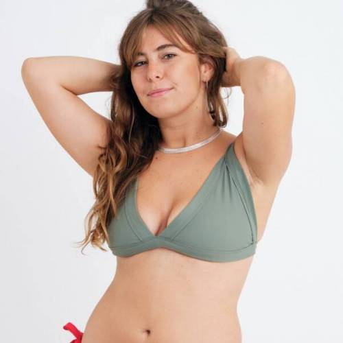 WONDA swim Bikini Top Kelly grün L