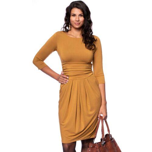 Ingoria Laila Figurfreundliches Etui-kleid Mit Tulpenrock senf XL