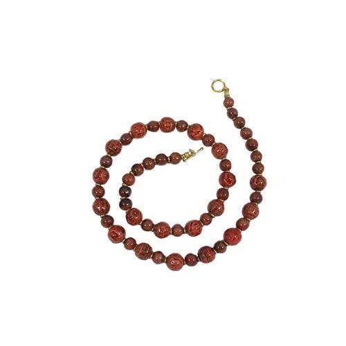 Schönes aus Indochina Halskette Keramik Kingdom terra