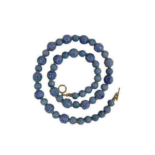Schönes aus Indochina Halskette Keramik Kingdom ocean