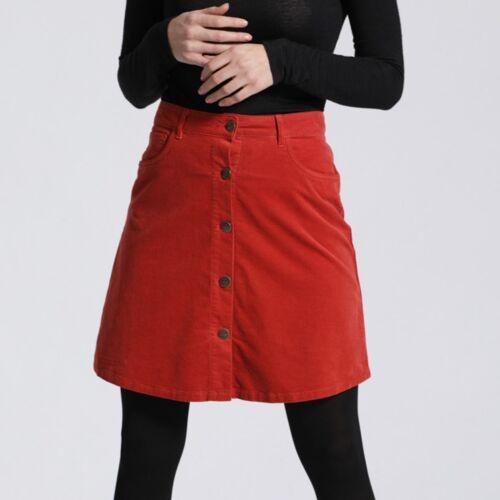 Feuervogl Sonia   A-shape Skirt   Kord tandoori 46