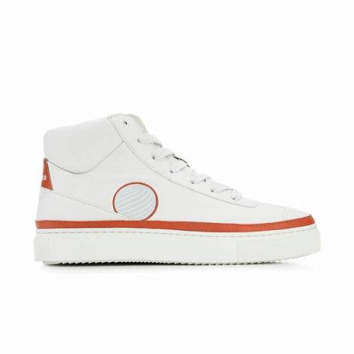 Komrads Apl High Top Sneaker Aus Apfelleder rot 37