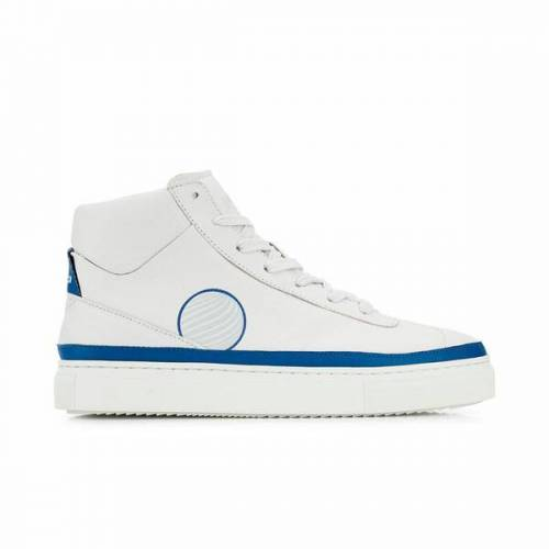 Komrads Apl High Top Sneaker Aus Apfelleder blau 39