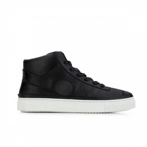 Komrads Apl High Top Sneaker Aus Apfelleder schwarz 44
