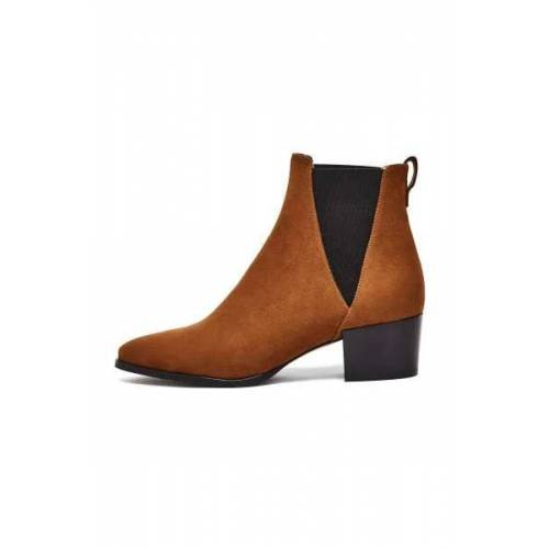 NINE TO FIVE Chelsea Boot #Brygge Mocca Soave mocca 39