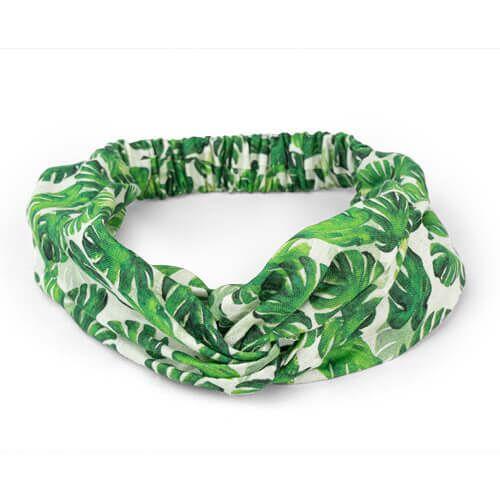 TrendRaider Haarband Aus Leinen Von Trendraider grün