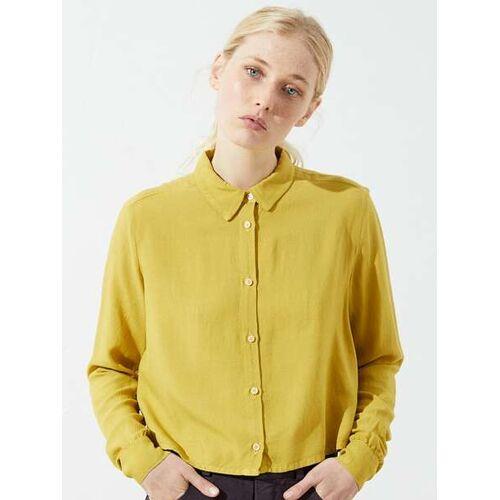 """CUS Frauen Bluse """"Segvi Twill Shirt"""" amber (gelb) M"""