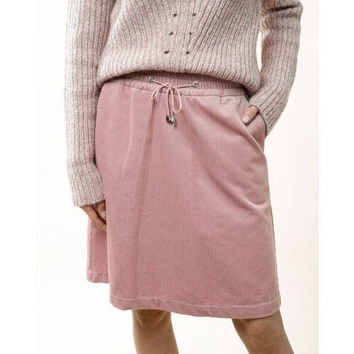 """Alma & Lovis Cordrock Mit Taschen Und Bindeband - """"Cablecord Skirt"""" rosa 36"""