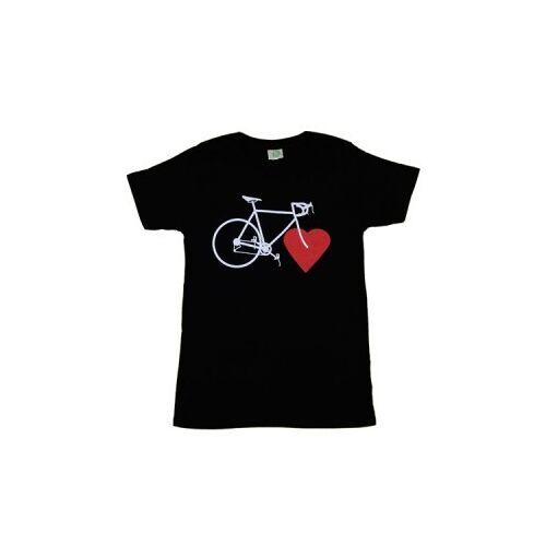 nicegreenstuff Bike Love (Girls Eco-shirt Black) black XS