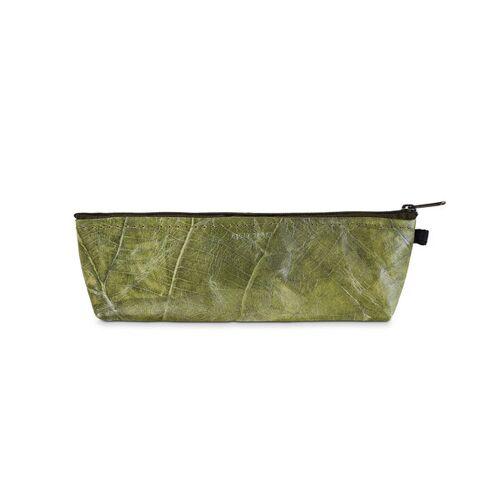"BELEAF Etui ""Pen Leaf"" Aus Blattleder Vegan leaf green"