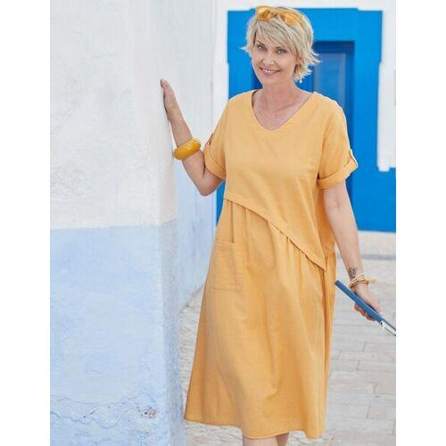 Deerberg Leinen-kleid Rabna Mit V-ausschnitt - Aus 100% Deerberg-leinen mango 50