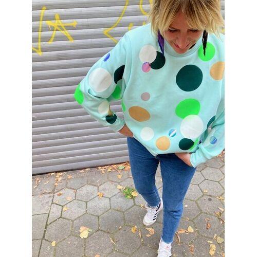 Iksi - XXII Streetwear Dots Sweat mint