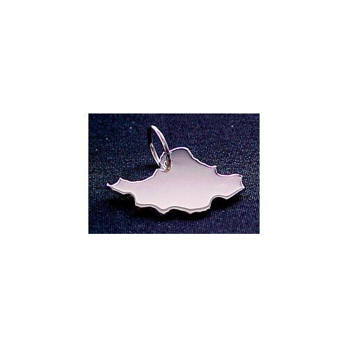 S.W.w. Schmuckwaren Iran Kettenanhänger In 925 Silber silber