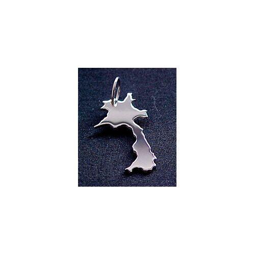 S.W.w. Schmuckwaren Laos Kettenanhänger In 925 Silber silber