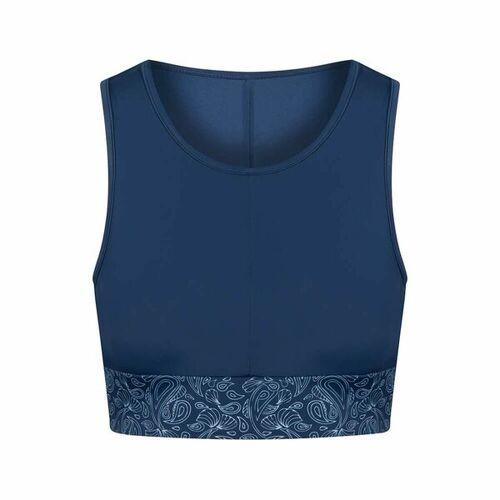 Bleed Econyl® Bikini Sports Top Blau blau S