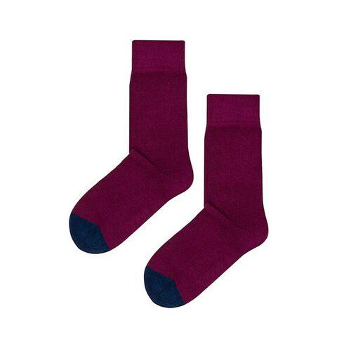 Kabak Socken Aus Bio-baumwolle / Organic Cotton Toe rot 36-41