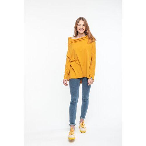 KOKOworld Bluse Minimal From Fairtrade Cotton sunflower (gelb) onesize