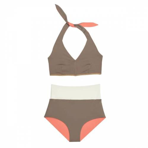 "MYMARINI Bikini Sosue Bikini Surfshorts orange (""sand/peach"") S"