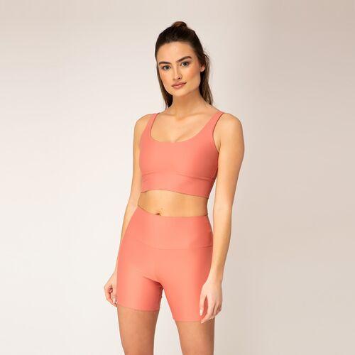 Woodlike Ocean Woodlike - High Waist Shorts peach (rosa) M