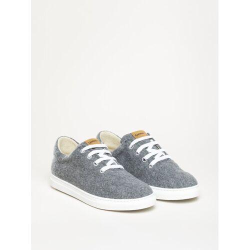 Gottstein Österreich-Marke Magicfelt Magicfelt Moderner Wool Walker 101 Sneaker Aus 100 % Schurwolle grau 45