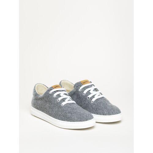 Gottstein Österreich-Marke Magicfelt Magicfelt Moderner Wool Walker Sneaker Neu Aus 100 % Schurwolle grau 42
