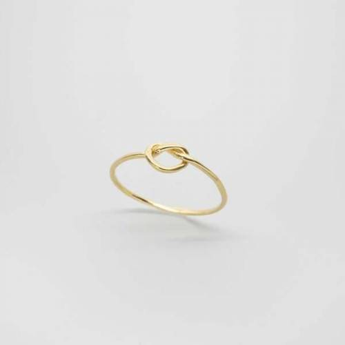 fejn jewelry Ring 'Knot' gold M