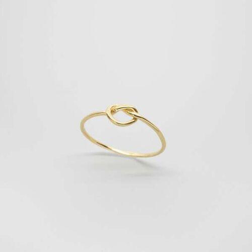 fejn jewelry Ring 'Knot' gold L