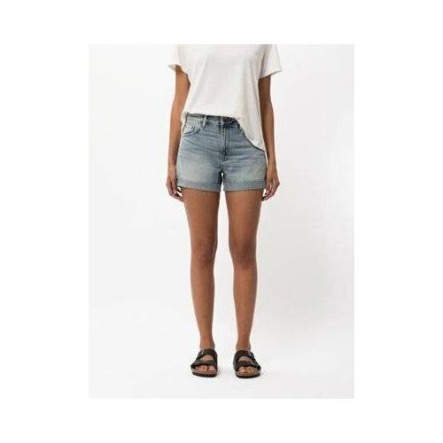 Nudie Jeans Jeans Shorts Frida faded sun 25