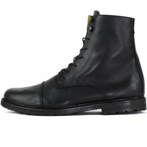 SORBAS '94 Leder Stiefel (Ungefüttert) schwarz 44