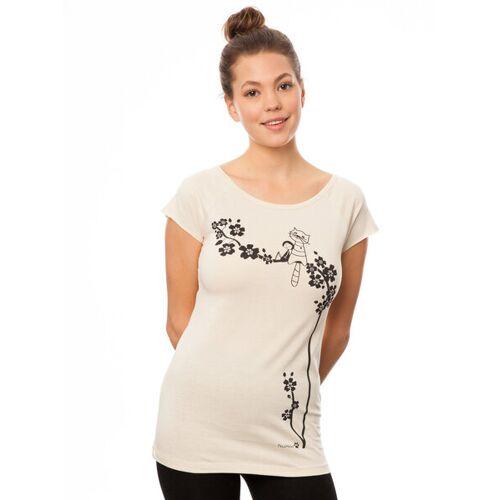 Fellherz Damen T-shirt Catlove sand XL