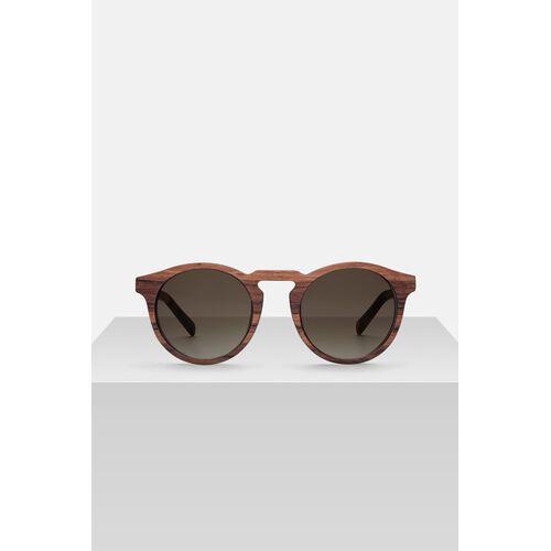 Kerbholz Sonnenbrille Aus Holz 'Rieke' zebrano