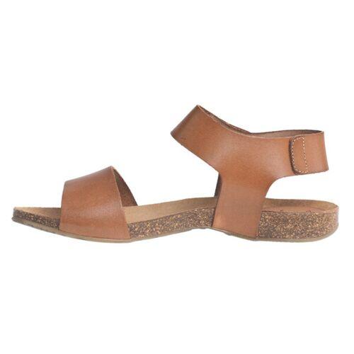 "Grand Step Shoes Sandale ""Clara"" whisky (braun) 37"