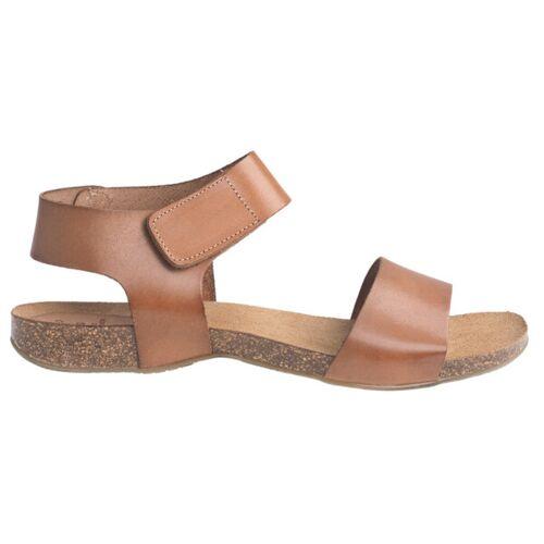 "Grand Step Shoes Sandale ""Clara"" whisky (braun) 40"