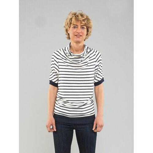 Kollateralschaden T-shirt Mit Streifen blau weiß streifen XXL