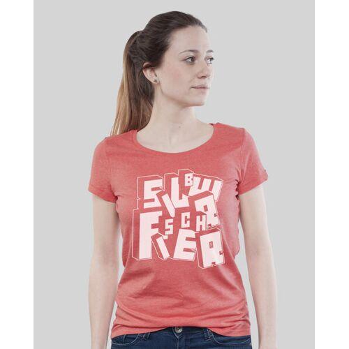 SILBERFISCHER Low Cut Shirt Women Botb coral (rot) M