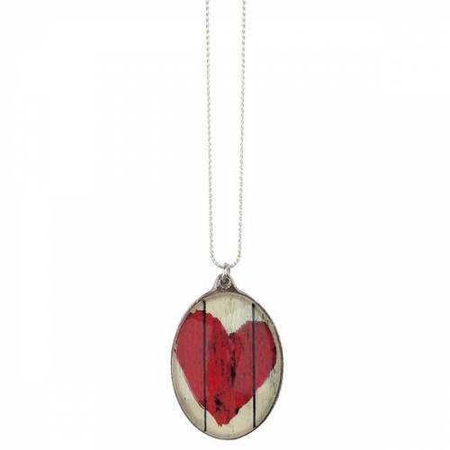The Pendant Warehouse Wooden Heart   Oval