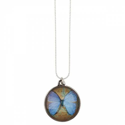 The Pendant Warehouse Blue Butterfly blue