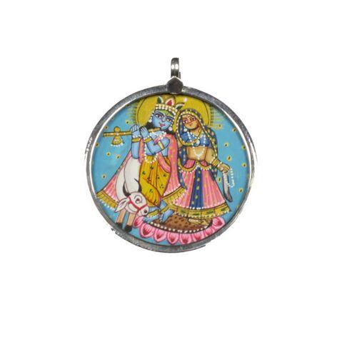 Just Be Krishna Radha Anhänger