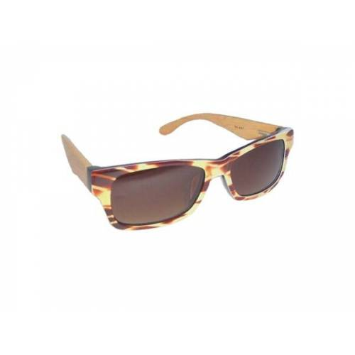 woodlike - Eco Unit T Designer Sonnenbrille - Horn horn optik