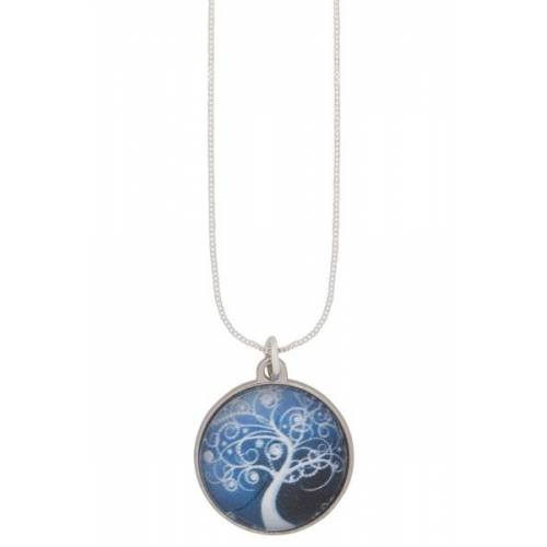 The Pendant Warehouse Tree In Blue blue